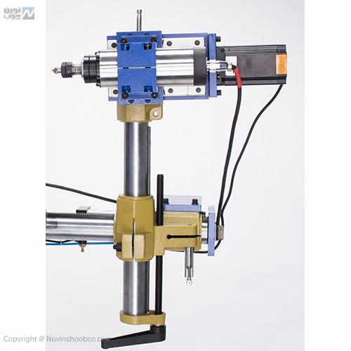 ماشین خراطی نوین چوب با دو کاتر
