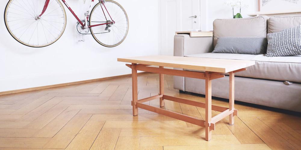 آموزش ساخت میز چوبی ساده بدون نیاز به بست و چسب