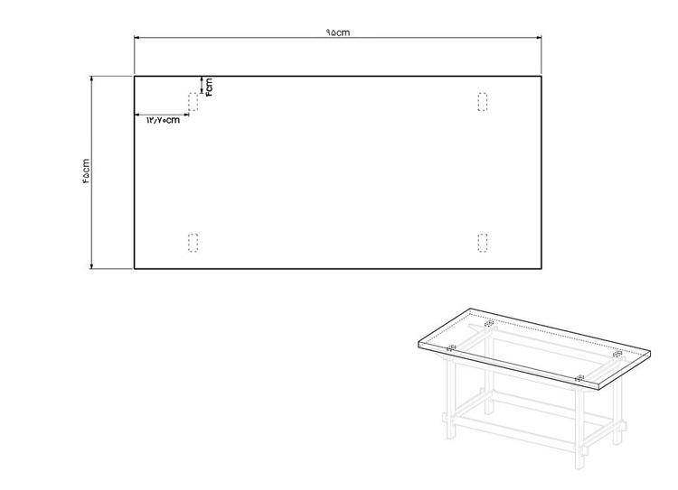 دیاگرام صفحه روی میز