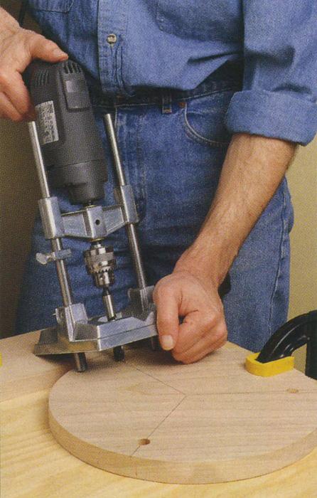 آموزش سوراخ کاری با دریل دستی