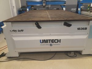 دستگاه CNC 1836B نوین چوب کارکرده