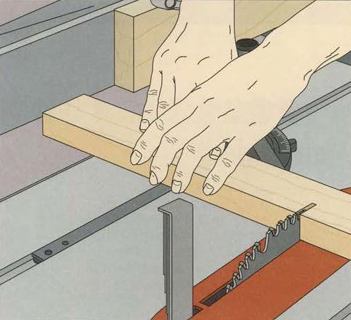 آموزش انواع برش عرضی با میز برش یا اره میزی