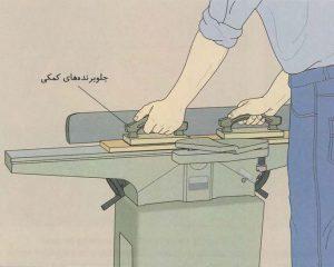 رنده کردن سطوح قطعه کار با استفاده از کف رنده