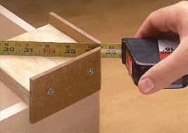 اندازه گیری قطرهای یک قاب