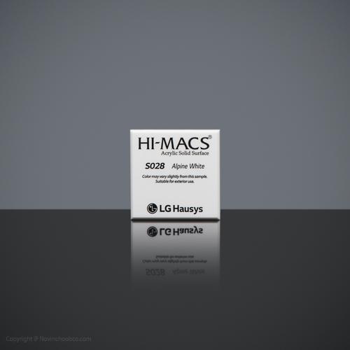 HI-MACS Alpine White 2