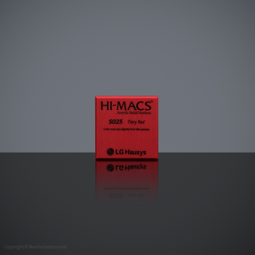 HI-MACS Flery Red 2
