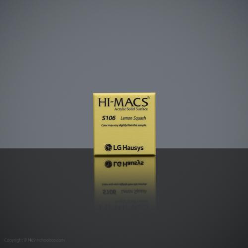 HI-MACS Lemon Squash 2