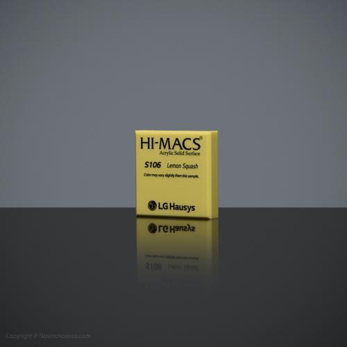 HI-MACS Lemon Squash 3