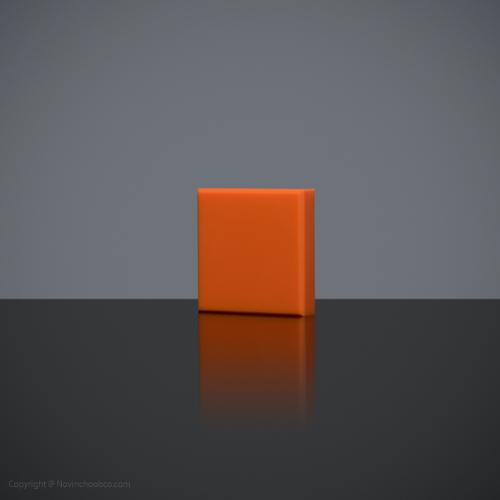 HI-MACS Orange 3