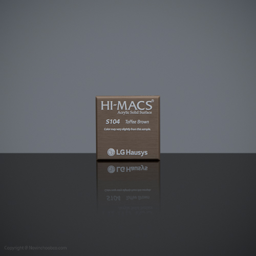 HI-MACS Toffee Brown 2