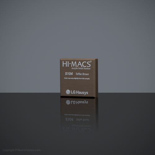HI-MACS Toffee Brown 3