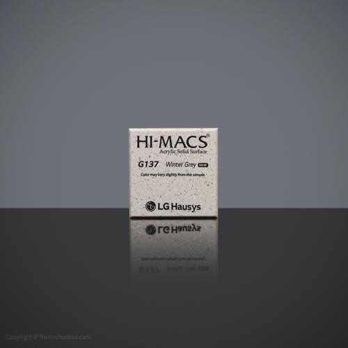 HI-MACS Winter Grey 2