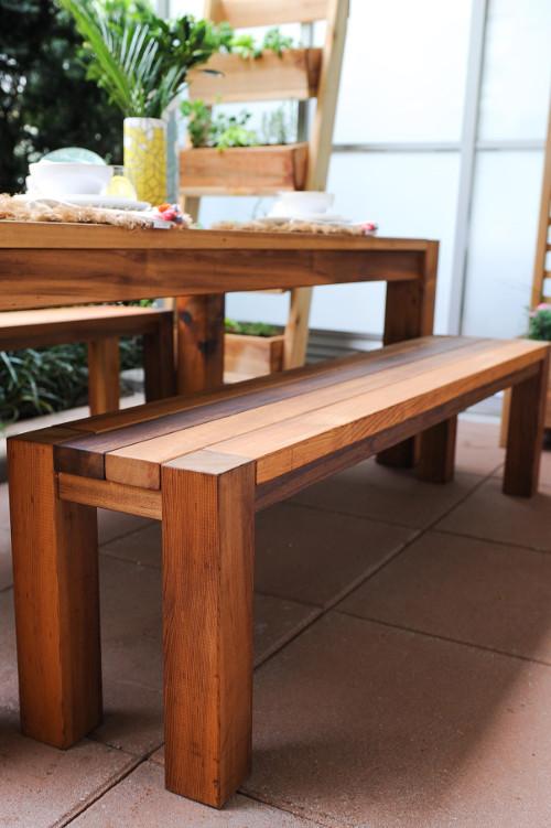 ساخت میز ناهارخوری با چوب سدار