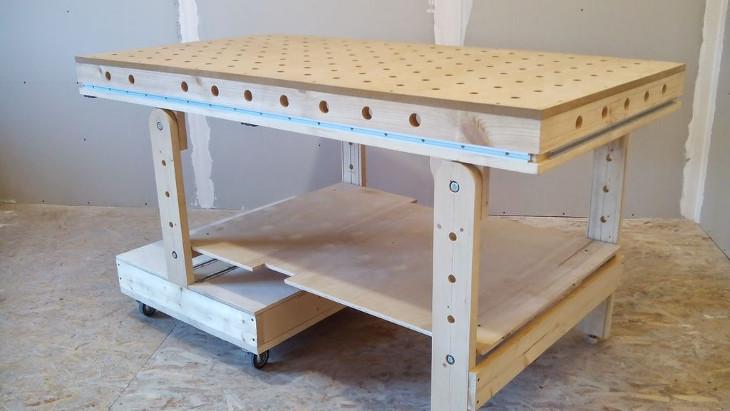 انتخاب چوب مناسب برای سطح روی میز کار