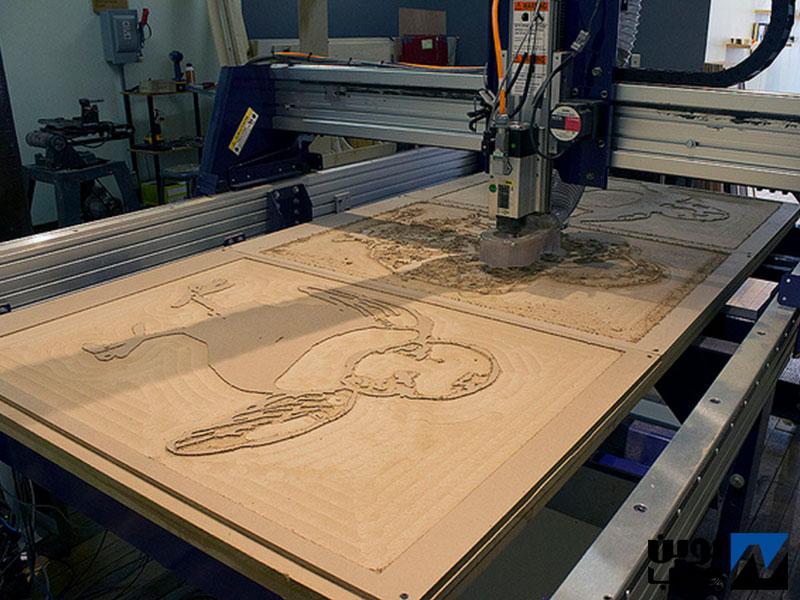 ماشین الات CNC نجاری