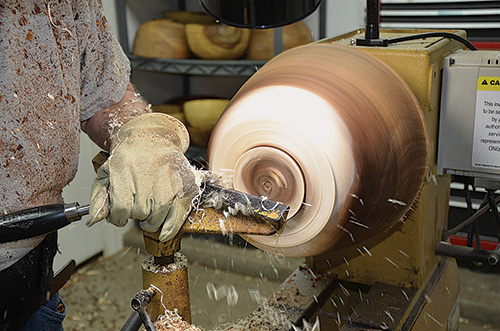 تراشیدن چوب برای نجاری
