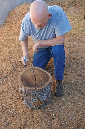 پروسه دیوید کرافورد برای چوب برای نجاری