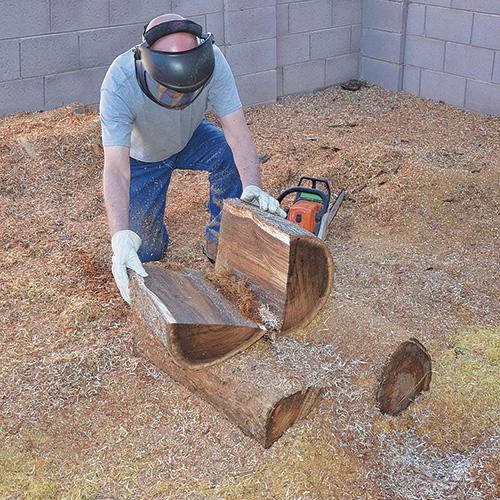 پروسه دیوید کرافورد برای چوبهای پیداشده در صحرای آریزونا