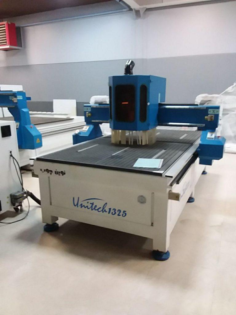 دستگاه UNITECH CNC1325A کارکرده نوین چوب