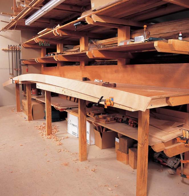 میز نجاری برای ساخت قایق