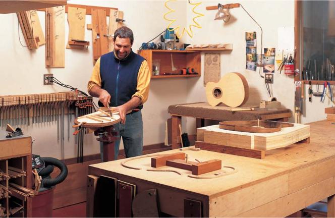 میز نجاری مناسب ساخت آلات موسیقی