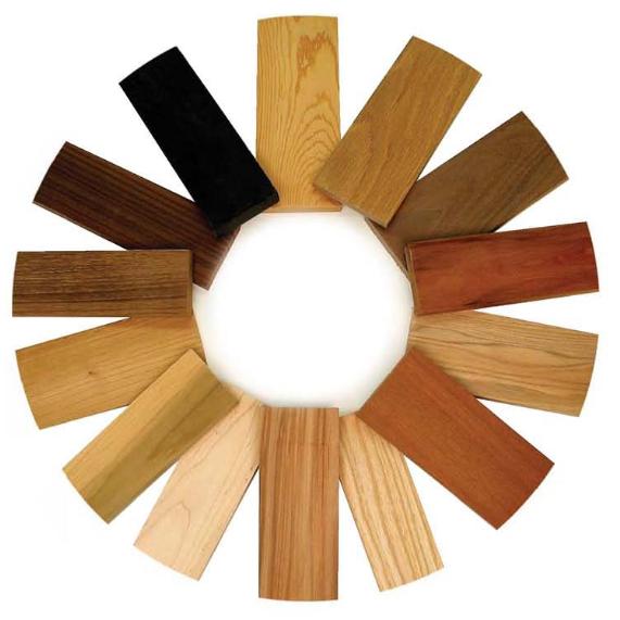 انواع چوبهای مورد استفاده در نجاری