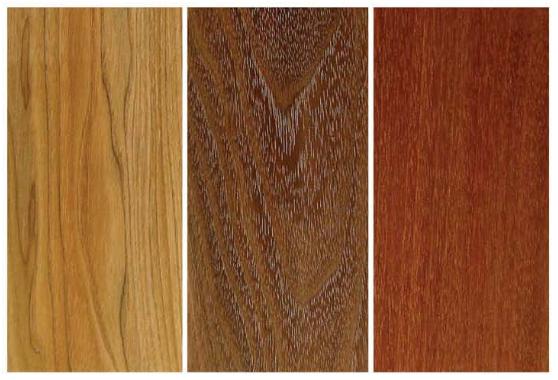 انواع چوب های دانه متوسط