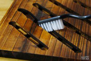 تمیز کردن چوب